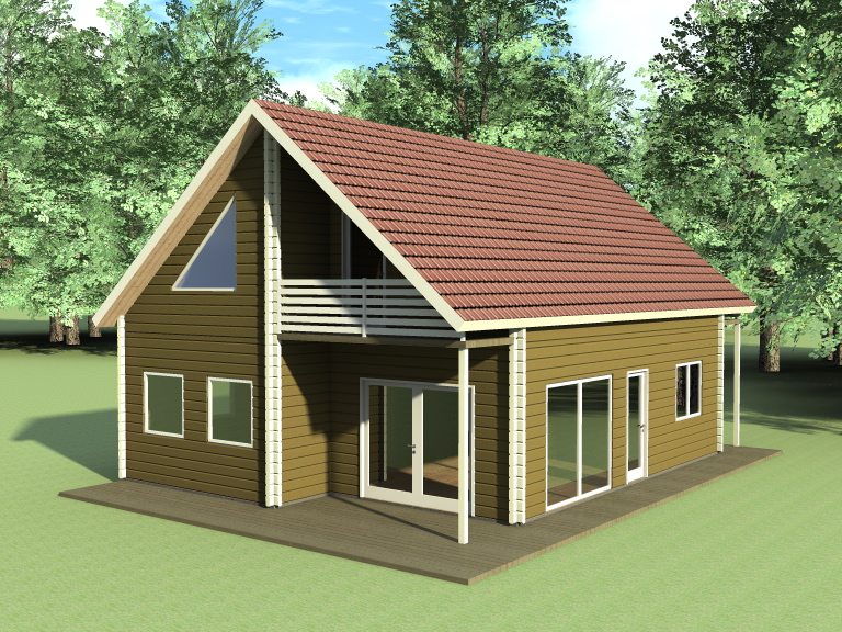 Different styles of log and frame houses for Different style of houses