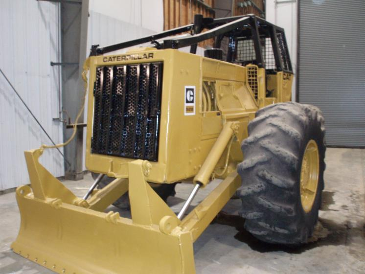 Used Caterpillar 528 Skidder For Sale Belgium