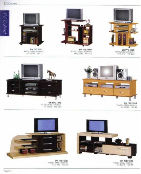 TV stand's, Design, 50   80 pieces