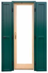 Porte, Finestre, Scale, Persiane E Cofani Europa - Finestre ISO-9000 Abete - Legni Bianchi