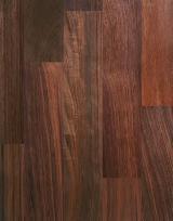 1 层实木面板, 黑胡桃木
