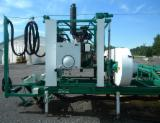Woodworking Machinery - Double-cut sawmill with (used) 115hp John Deere diesel engine