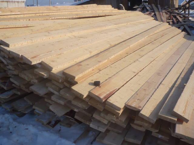 saw logs, Larch (Larix) (Asia)