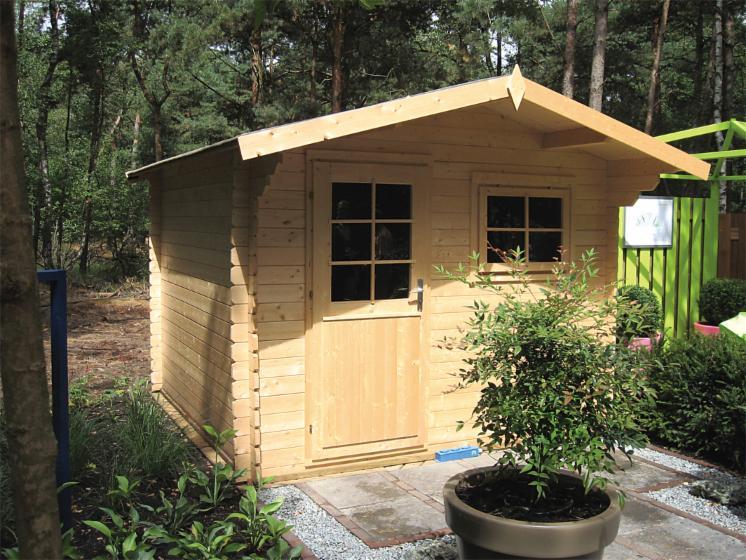 Casas de jardin cobertizos y complementos en madera for Cobertizos para jardin