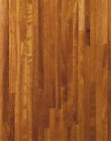 TEXWOOD panneaux de bois lamelles colles aboutes - IROKO
