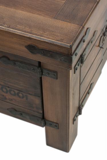 wohnzimmertisch im landhausstil. Black Bedroom Furniture Sets. Home Design Ideas