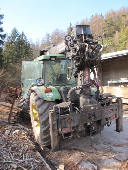Recogia de madera   Autocargador, Tractor Forestal