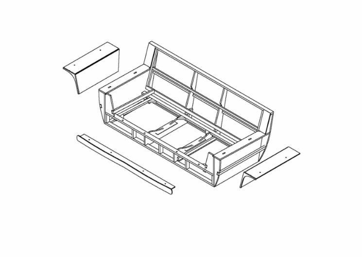 Telai per salotti carcasse divani for Salotti bianchi