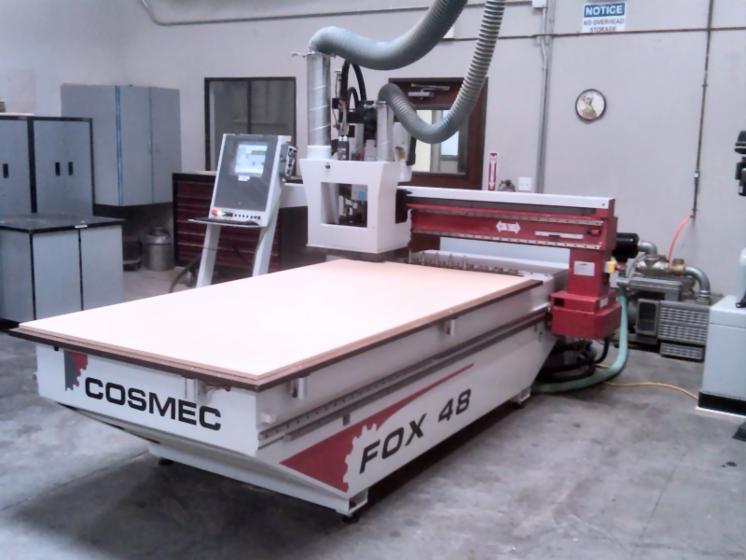 CNC Fraiseuse COSMEC Occasion 2007 FOX 48 en USA u00c0 Vendre # Fraiseuse Cnc Bois