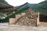 Firelogs - Pellets - Chips - Dust – Edgings PEFC FFC - Firewood/Woodlogs Cleaved, Encina chêne vert