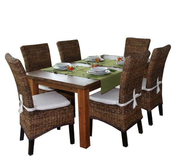 Ensemble table ronde et chaise salle a manger - Ensemble chaise et table ...
