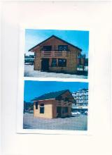 Wood Houses - Precut Timber Framing - Square Milled Log House, Spruce (Picea abies) - Whitewood, Romania