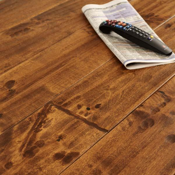 Antique birch engineered flooring three layer for Birch hardwood flooring