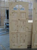 Holzkomponenten, Hobelware, Türen & Fenster, Häuser Südamerika - Südamerikanisches Nadelholz, Türen, Elliotiskiefer