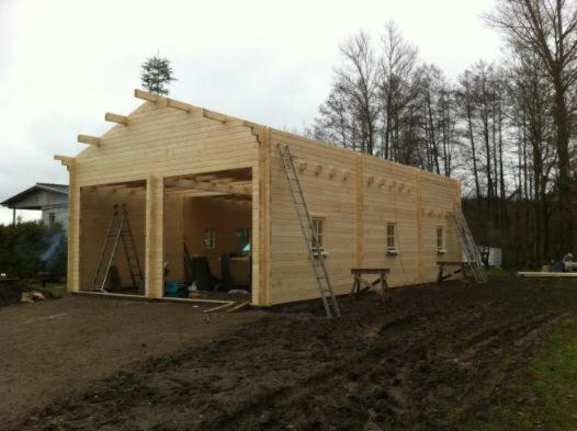 Blockbohlengaragen Holzgaragen Blockhauser Individuelle
