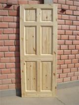 Doors, Windows, Stairs - Pine Doors for sale from Vietnam