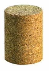 Pallet blocks / Palettenklotz aus Spanholz / round block
