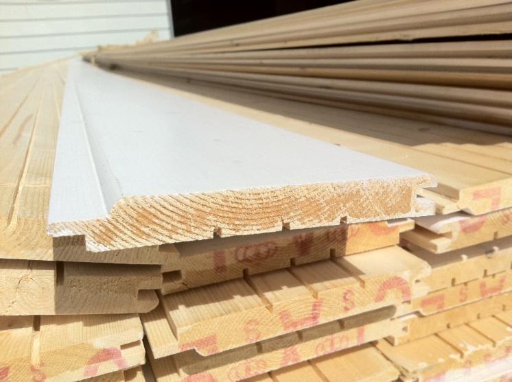 Abeto madera blanca paneles para pared interior lambriz for Paneles de madera para pared