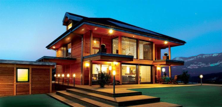 Kit de maison en bois du bresil for Images de maisons