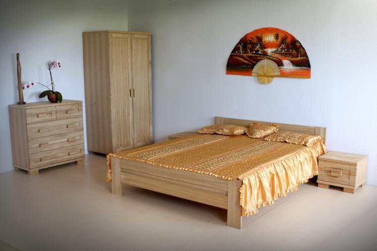 Vendo arredamento camera da letto tradizionale latifoglie europee rovere - Vendo camera da letto usata ...