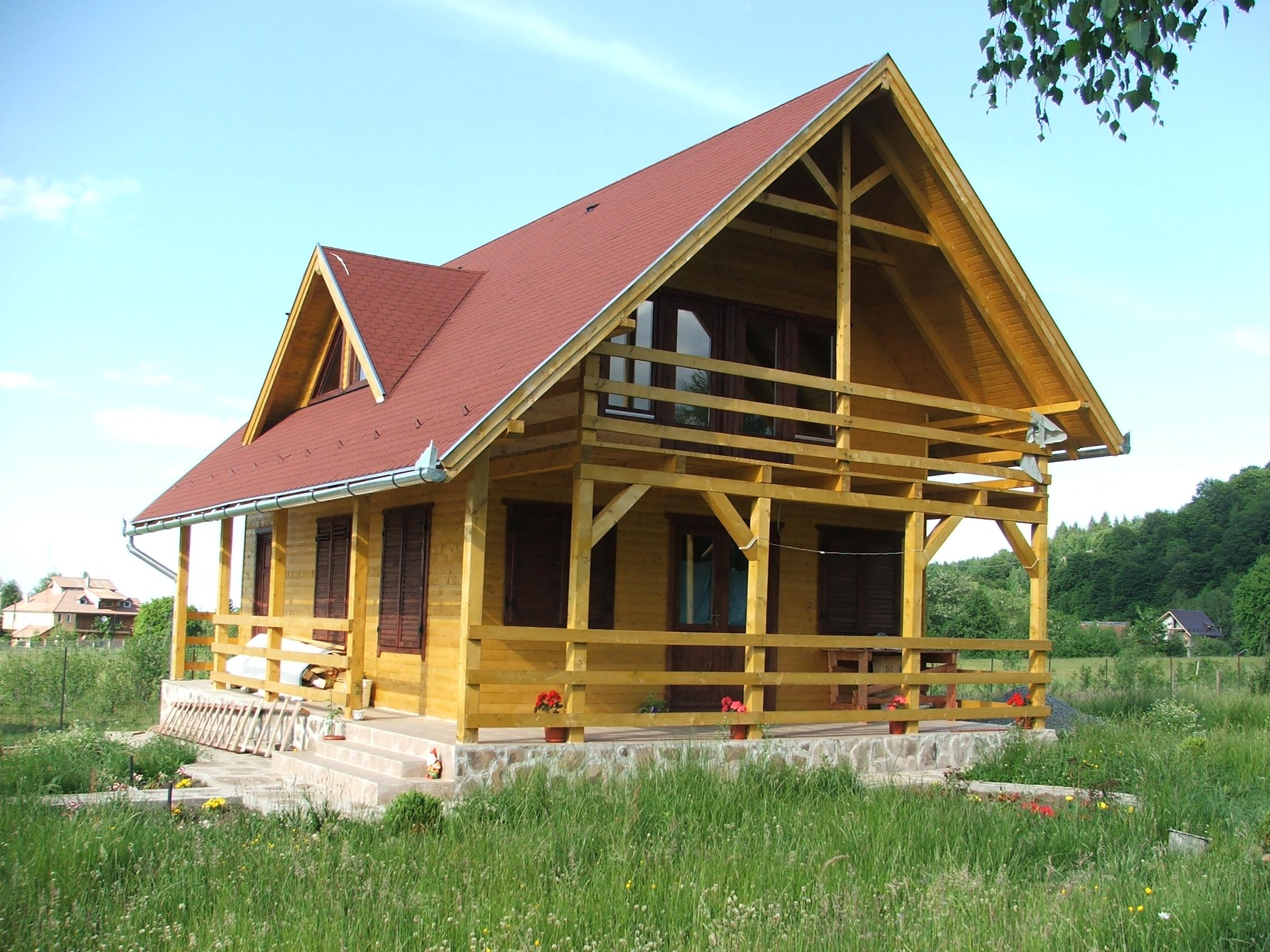 Timber frame house images frompo Timber house