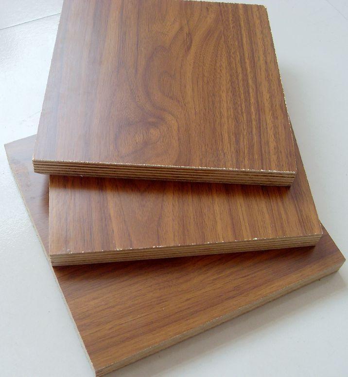 Melamine faced plywood face back paper blue