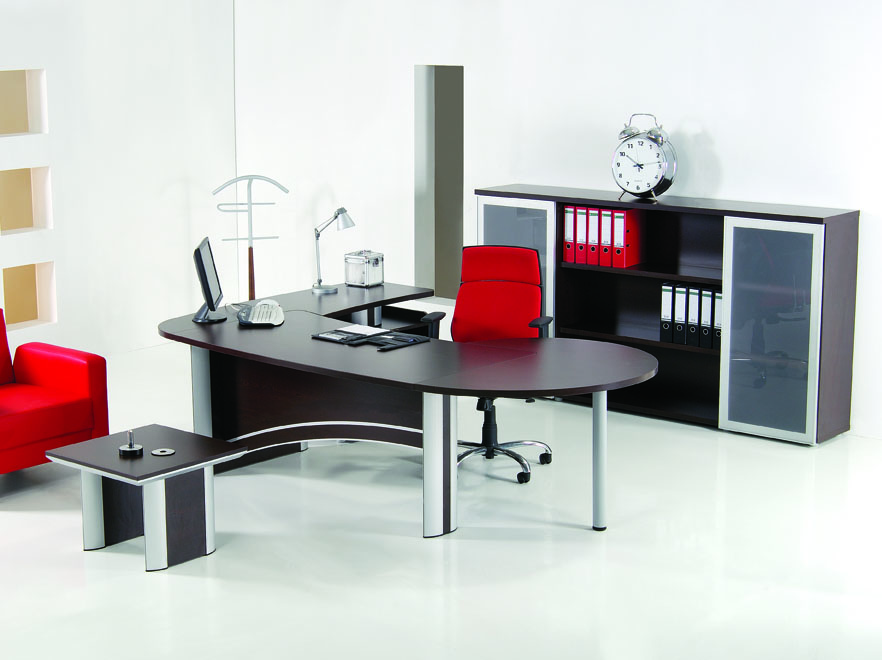 Ensemble de meubles pour bureau contemporain 100 0 for Meuble bureau contemporain