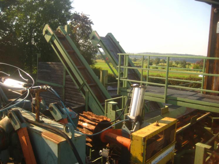 Used HOTEC/ SCHILCHER/ KOKUMS/ HECHT 1992- 1999 Log Yard For Sale ...