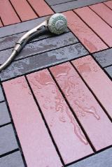 null - WPC. wood plastic composite Deck tiles