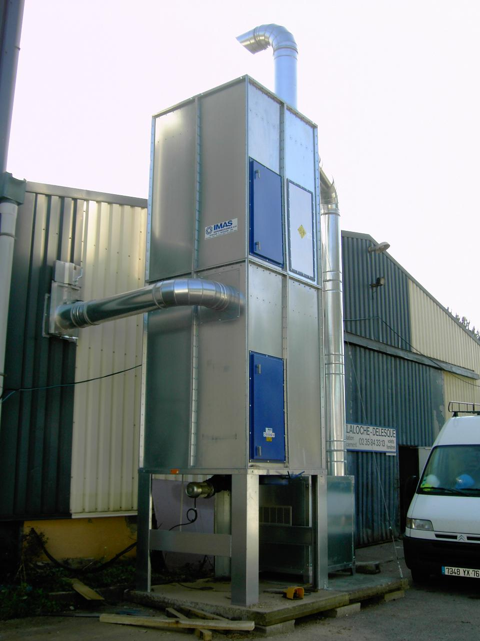 Dust Extraction, Filter, Filter System, IMAS