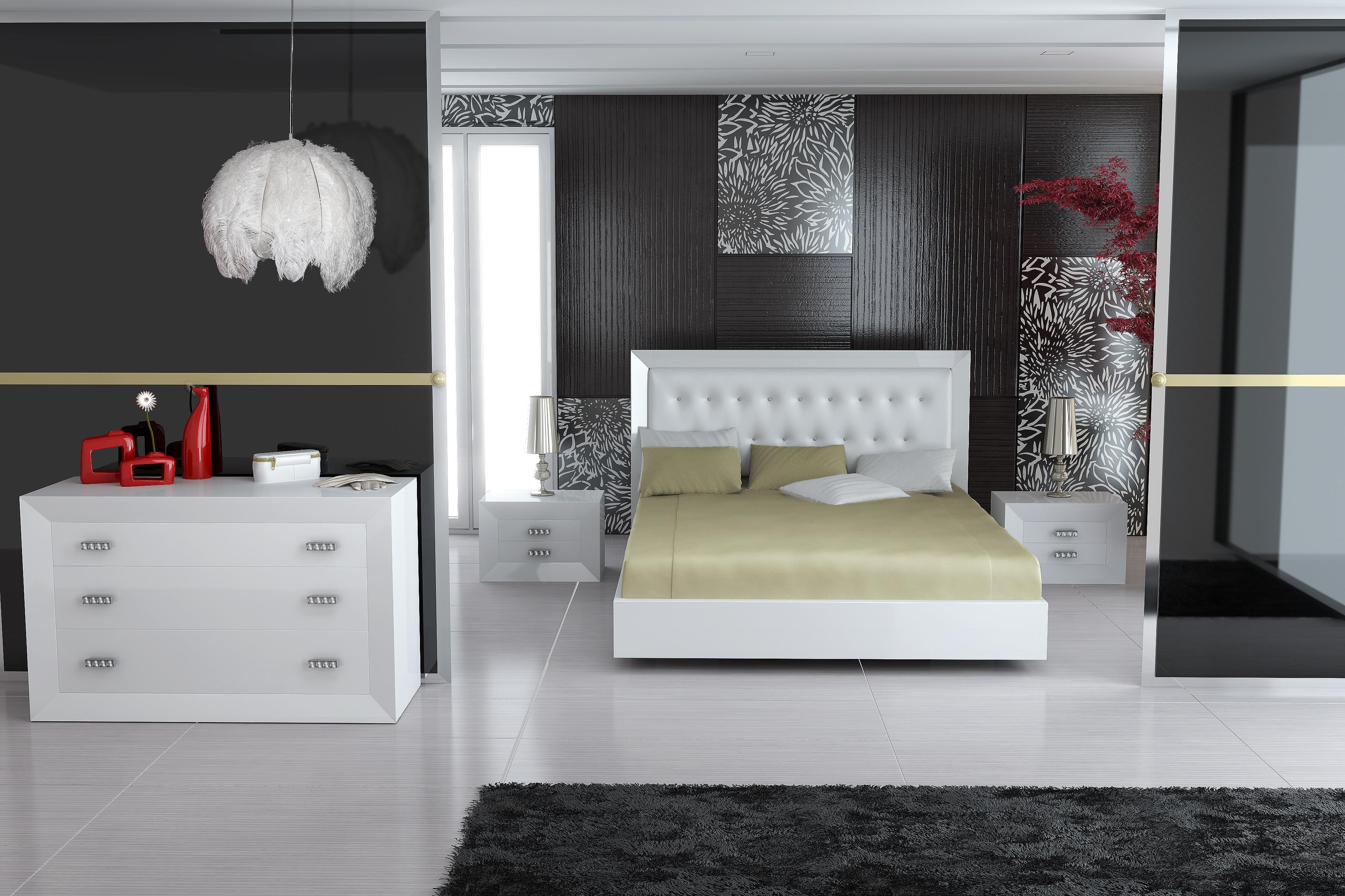 Ensemble pour chambre coucher design 1 0 1000 0 pi ces for Design chambre a coucher
