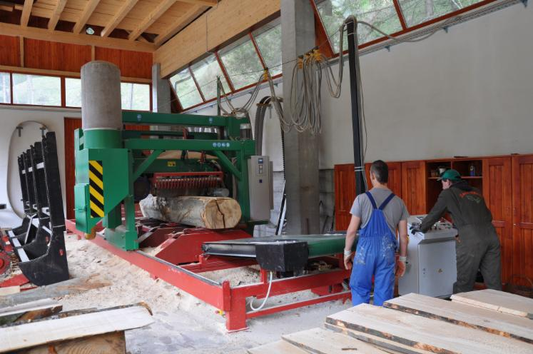 New Mebor HTZ 1200 Super Profi Plus Log Band Saw Horizontal For Sale Slovenia