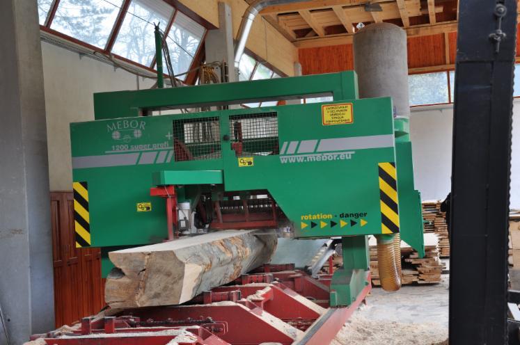 Log Band Saws, Horizontal Mebor HTZ 1200 Super Profi Plus Nowe Słowenia