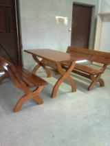 Wholesale Garden Furniture - Buy And Sell On Fordaq - Traditional White Fir (Abies concolor) Garden Sets Deva Romania