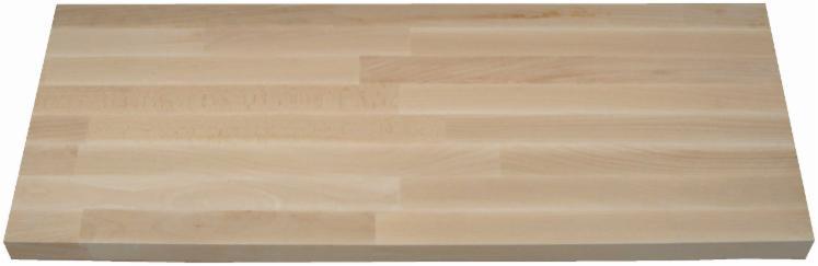 Glued-panels---beech-steamed--