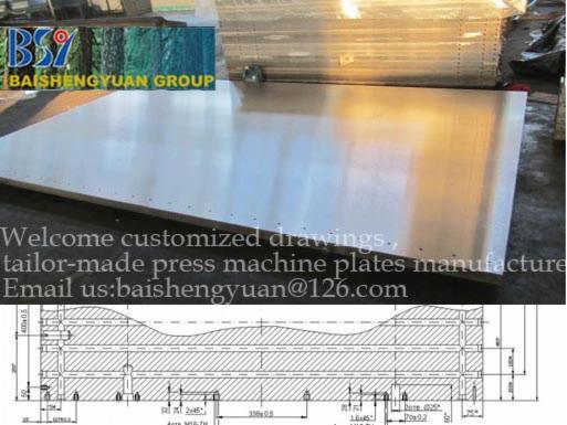 solid-steel-press--platens