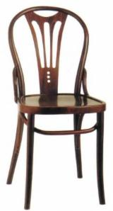Traditional Restaurant Chairs - Traditional Beech Standard Restaurant Chairs Bucea Romania