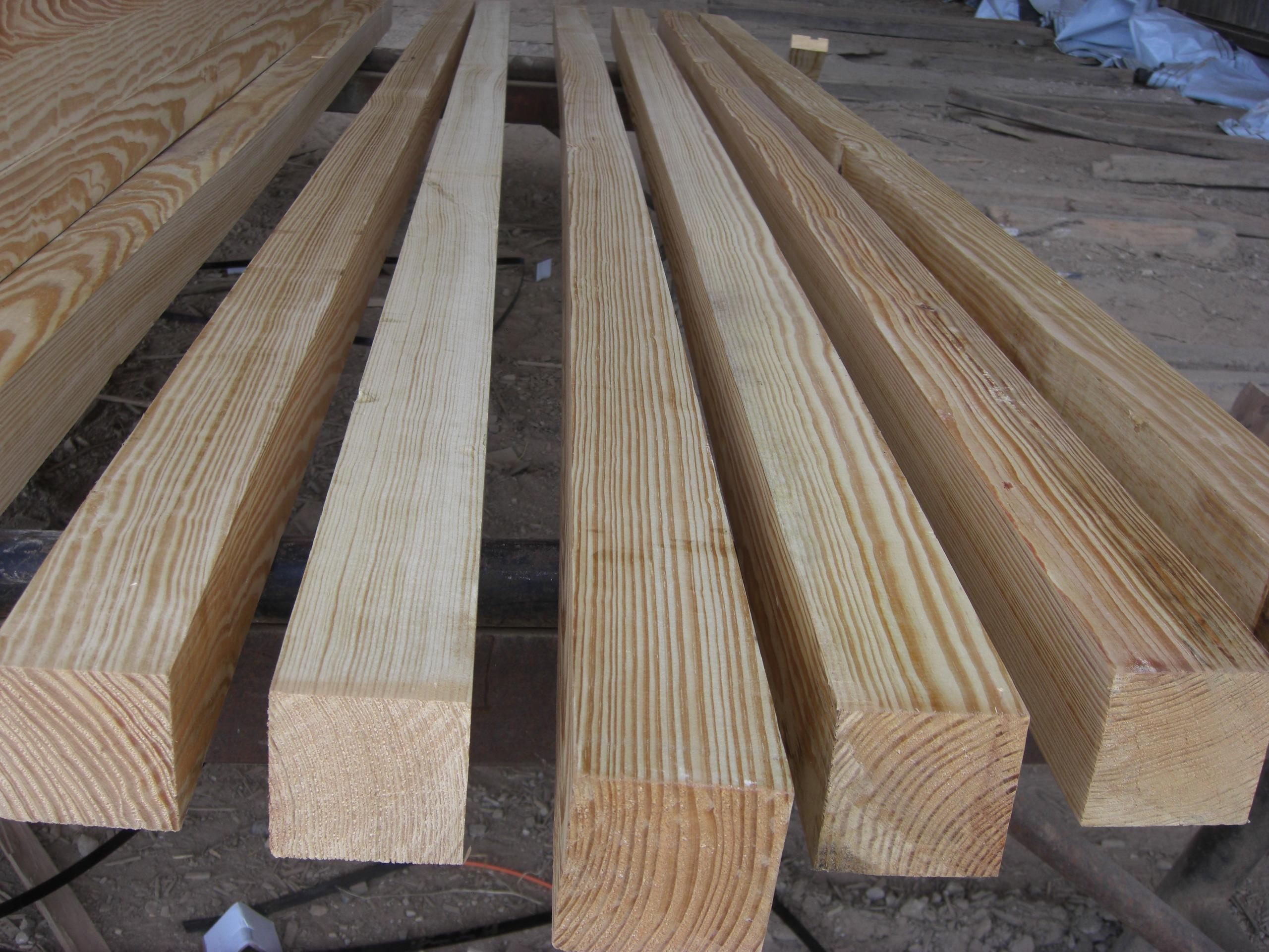 Yellow Wood Lumber ~ Southern yellow pine lumber clears