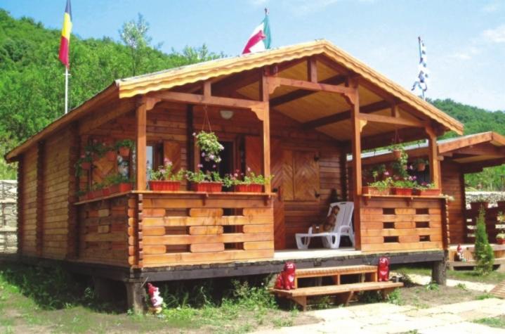 Casetta in legno mod parenzo mq 40 for Case legno romania