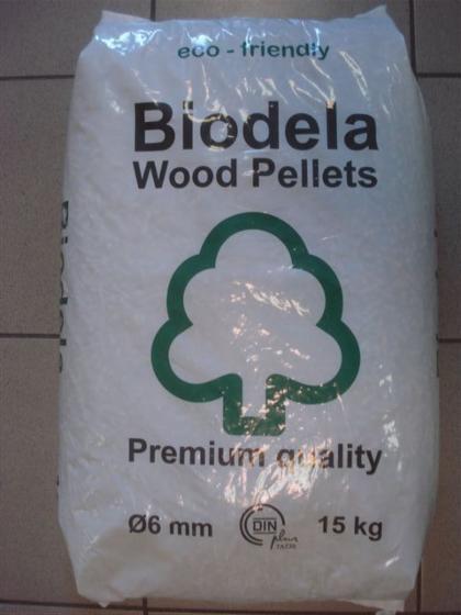Din wood pellets in kg bags