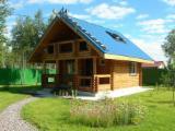 Wood Houses - Precut Timber Framing - Square Milled Log House, Masson Pine (Pinus Massoniana)
