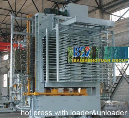 Plywood Presses For Flat Surfaces EUC BY214×8/7-15ZD Nowe Chiny Na Sprzedaż