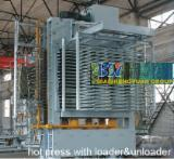 Woodworking Machinery Plywood Press For Flat Surfaces - 10-30 opening hot press machines