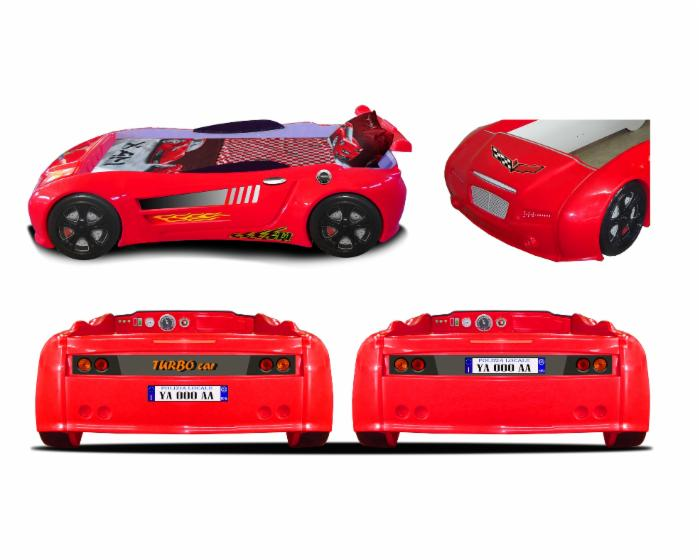 ABS plastic race car beds, Design