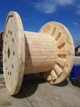 Pallets, Packaging And Packaging Timber - New Pine Cable Reels, 400-4000 mm