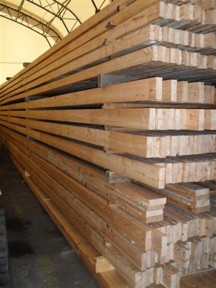 Glulam   straight beams, Alpenest