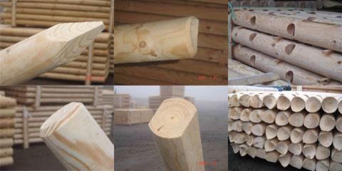stakes, Pine (Pinus sylvestris)   Redwood
