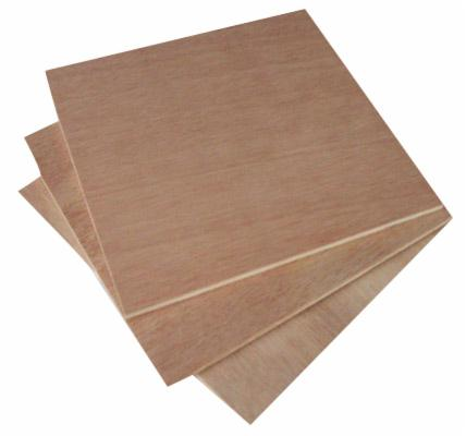 Natural plywood, Meranti, dark red (Nemesu