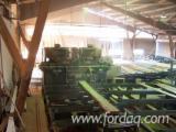 Trouvez tous les produits bois sur Fordaq - GPS EURL - Déligneuse COBRA 2MT2 MEM + table d'entrée + tunnel sortie (Pupitre et