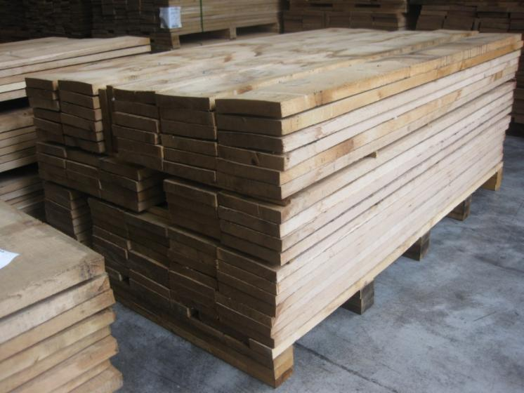 Planks (boards), Oak (European)